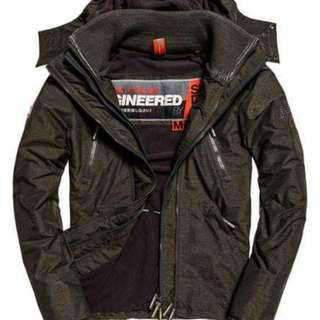 Superdry Artic Wind Attacker連帽夾克風衣