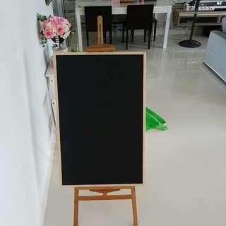 Wooden Easel Chalkboard DISPLAY