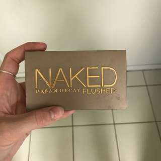 Naked urban decay flushed