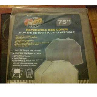 """GRILL WORKS T-BONE 75"""" REVERSIBLE BBQ COVER - HEAVY DUTY - NEW IN BAG"""