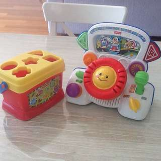 Fisher Price Laugh & Learn Rumble