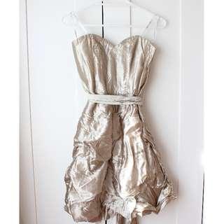 *BRAND NEW* Forever New Gold Dress
