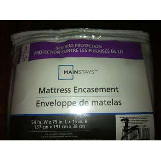 MAINSTAYS BED BUG PROTECTION - NEW IN BAG