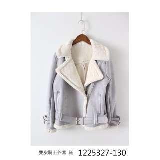 麂皮刷毛飛行外套【5327130】新品限時特價