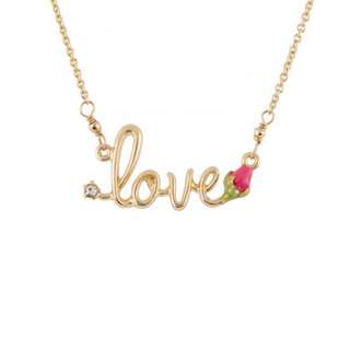Les Nereides Handmade Love  Necklace