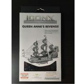 🚚 IconX 3D Metal Model Kits - Queen Anne's Revenge