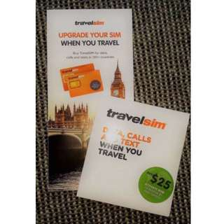 Brand New TravelSIM with $5 included credit