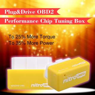 Plug and Drive OBD2 Chip Tuning Box
