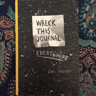 Mini Wreck This Journal