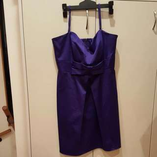 Stacy Size 14 Purple Dress