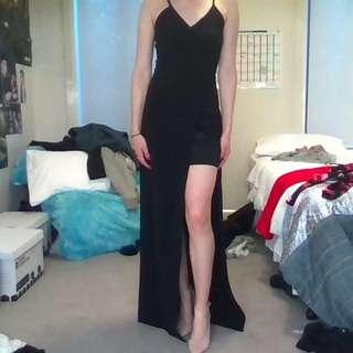 Missguided Black Formal Dress