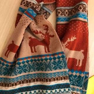 ❄️☃️❄️長圍巾