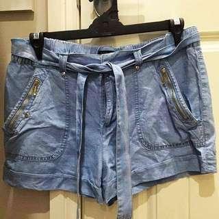 Forever New Denim Shorts Size 12