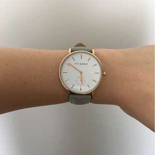 The Horse Watch (Rose Gold Grey)