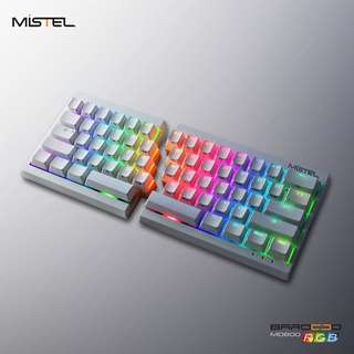 Mistel RGB Keyboard (Black/White frames - Available in Red/Brown/Blue Switches)