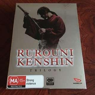 Rurouni Kenshin Trilogy DVD