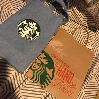 Limited Edition Starbucks Tote Bag
