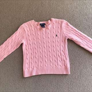 Pink Ralph Lauren Sweater
