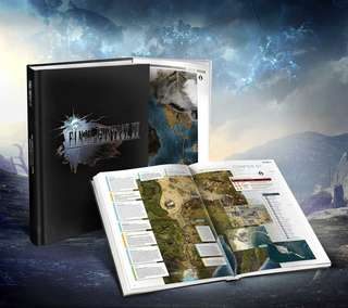[BNew, sealed] Final Fantasy XV: The Complete Official Guide Collector's Edition (Hardcover)