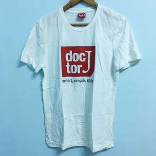 Doctor J 基本款白T