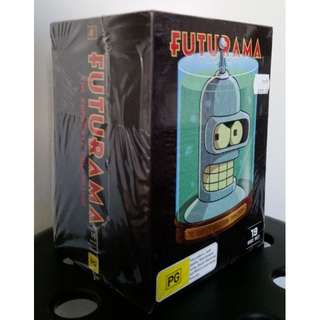 BRAND NEW SEALED FUTURAMA complete collection and movies box set