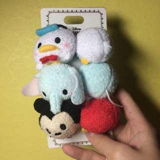 Tsum Tsum Hair Ties - Mickey, Dumbo And Donald Duck