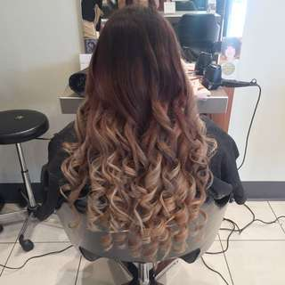 Hair Styling And Colouring