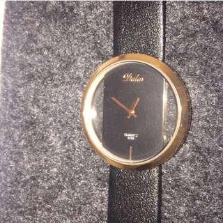 Black & Copper Watch