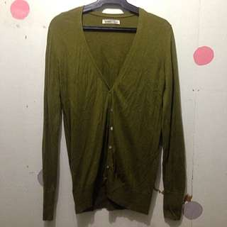 Moss Green Old Navy Cardigan