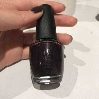 opi black cherry
