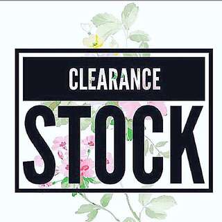 CLEARANCE STOCK🦄🦄
