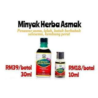 minyak herba asmak