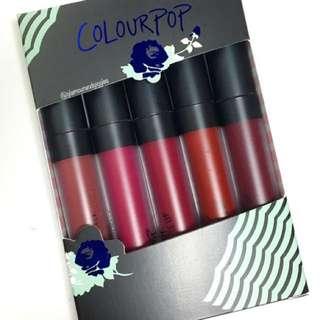 Colorpop Blues Baby Lip Set/individuals