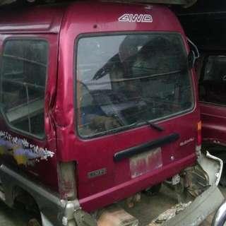 SUBARU-金福相-廂車-貨車-零件車
