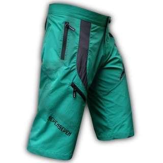 Seven7 Design Maximus Green MTB Short