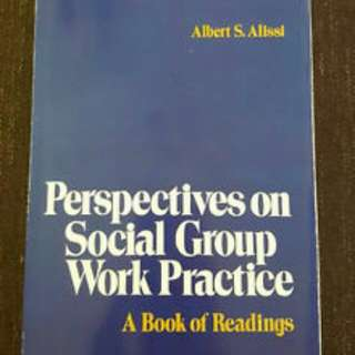 Perspectives On Social Group Work Practice- Albert S. Alissi