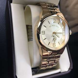 Gold Polo Watch