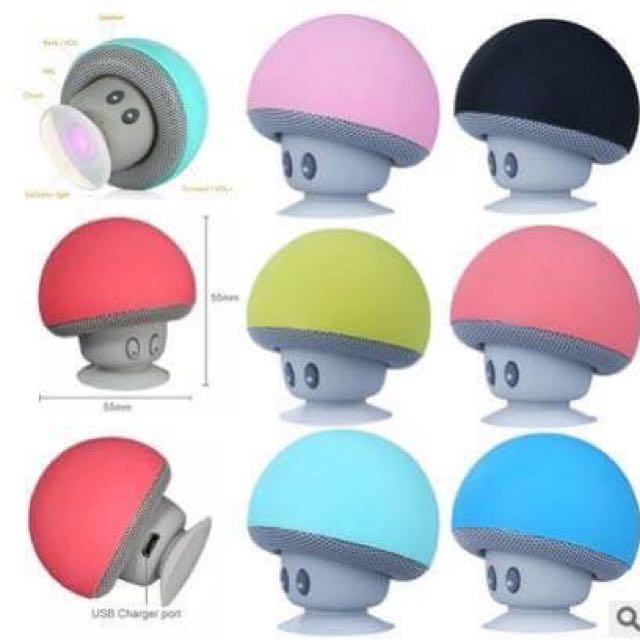 小蘑菇藍牙喇叭手機支架