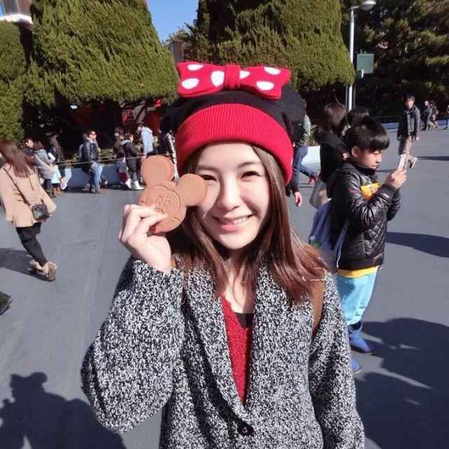 (包郵)  米妮針織毛帽 正版迪士尼