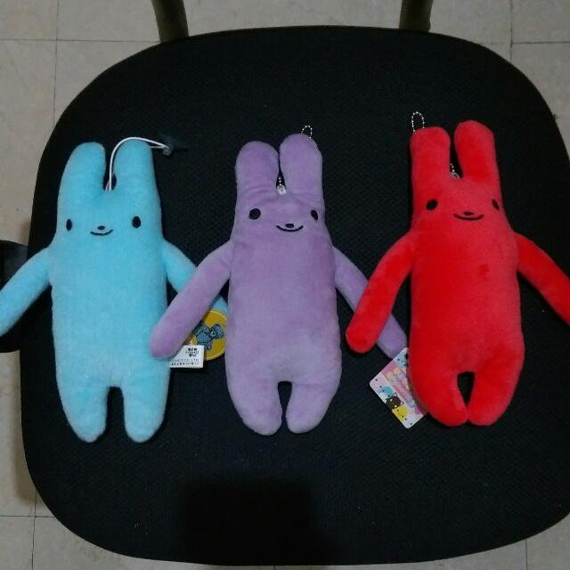 全新 可愛兔兔 長耳兔 娃娃 吊飾