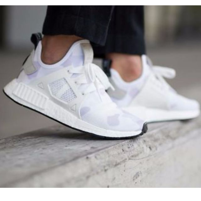 the latest 1467b ffd0a Adidas NMD XR1 Duck Camo White, Men's Fashion, Footwear on ...
