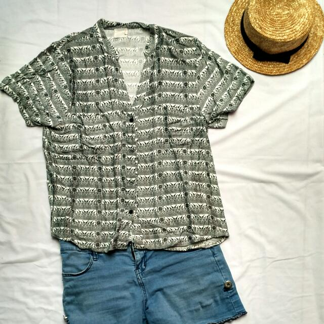 Animal Patterned Blouse