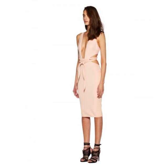 Bec and Bridge Desert of Paradise Cut Out Dress Size 6