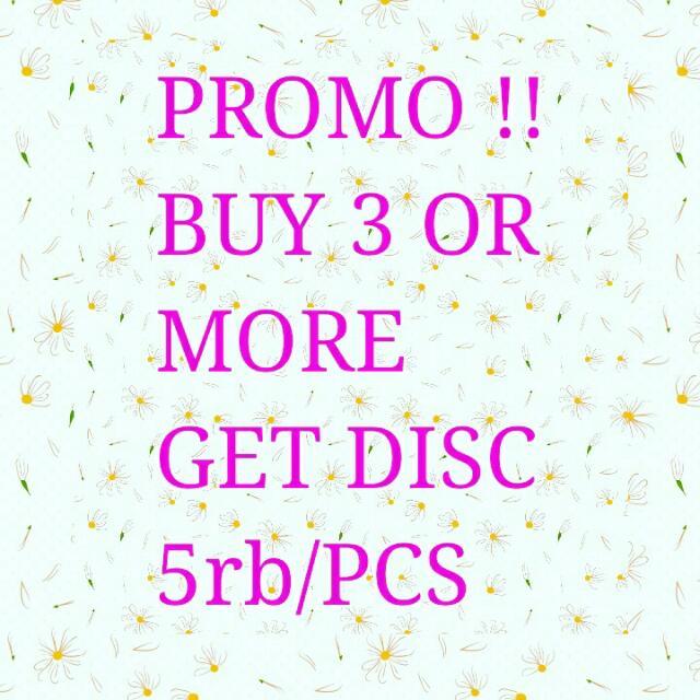 BELI 3 DISKON 5000/PCS