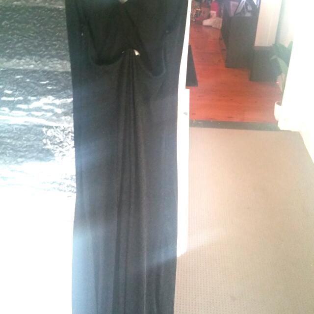 Black Sparkly Long Dress