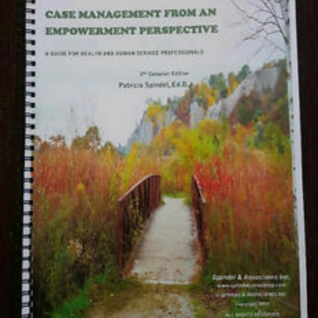 Case Management From an Empowerment Perspective 2nd Edition- P. Spindel
