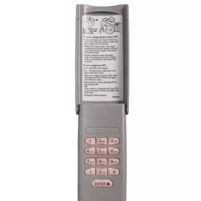 Chamberlain Wireless Keypad Keyless Entry Automated Garage Door