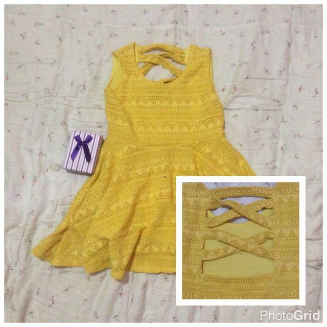 Cute Dress Fit 3-6yrs Old If Slim Kid