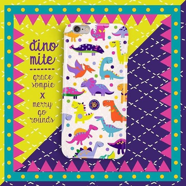 Dino Casing Iphone 6/6s (Nego Tipis)