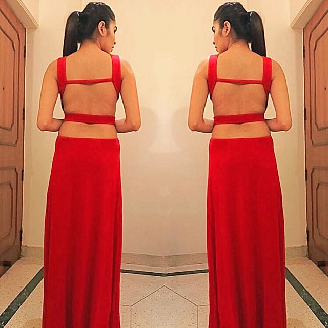 Forever21 Backless Gown